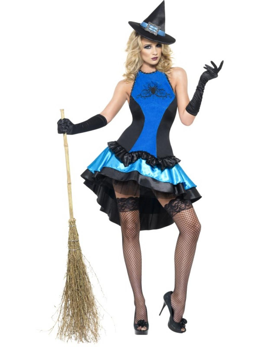 Adult Fever Witch Couture Fancy Dress Costume Halloween Ladies Womens Female Buy Online