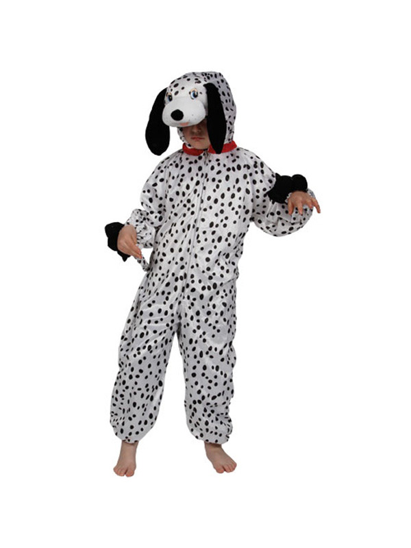 Boy's Dalmatian Jumpsuit Costume
