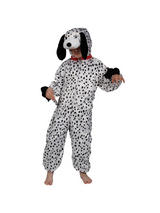 Boy's Dalmatian Jumpsuit Costume
