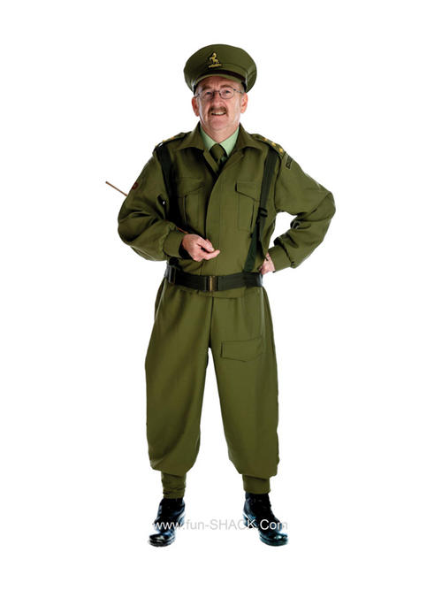 Gents Khaki Camo Army Costume Size