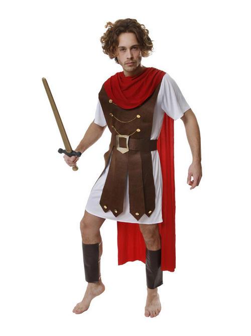 Adult STD Roman General Fancy Dress Costume Centurion ...