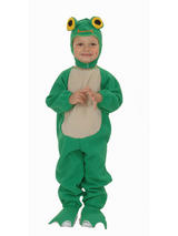 View Item Child Age 3 Years Frog Fancy Dress Costume Halloween Book Week Animal Fish Kids