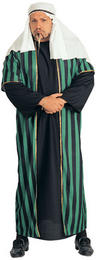 View Item Adult Arab Sheik Fancy Dress Costume Plus Size XXL