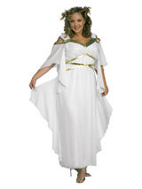 Ladies Plus Size Roman Goddess Costume