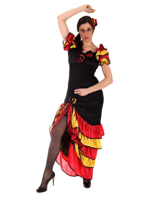 Ladies Spanish Rumba Costume