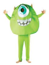 View Item Adult Monsters University Inc Mike Wazowski Fancy Dress Costume Mens