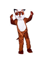 Men's Brown Fox Jumpsuit Costume