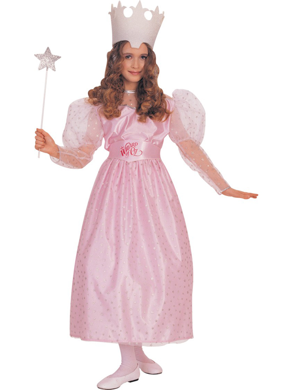 Child-Licensed-Wizard-of-Oz-Witch-Glinda-Fancy-Dress-Costume-BOOK-Kids-Girls