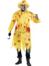 Adult's Zombie Fisherman Costume