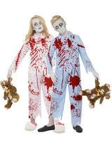 Children's Zombie Pyjama Costume