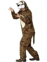 Adult's Hooded Tiger Costume