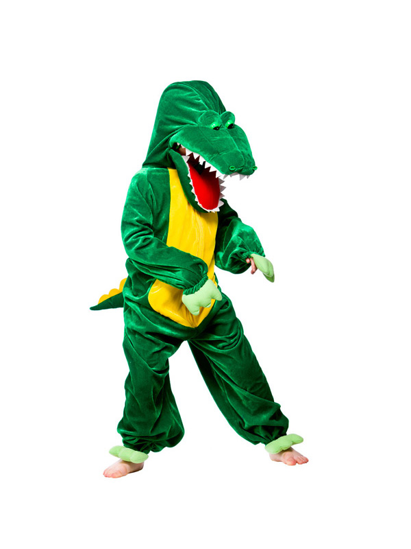 Child-Crocodile-Fancy-Dress-Kids-Character-Costume-Animal-Alligator-Book-Week