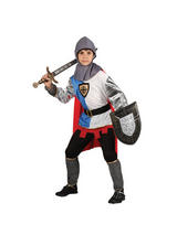 View Item Child Knight Of The Realm Fancy Dress Costume Medieval King Arthur St Georges