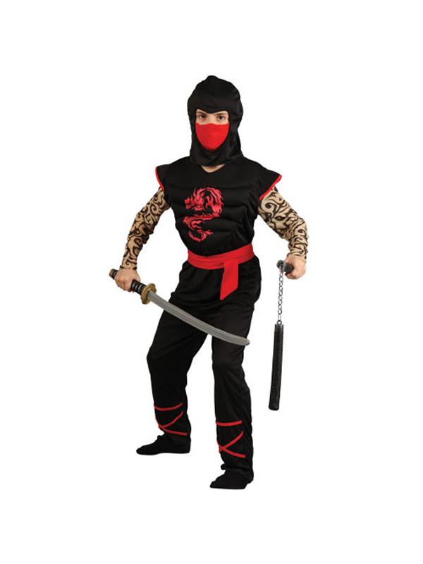 Boy's Ninja Warrior Costume