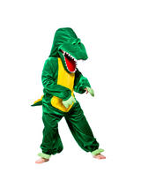 View Item Child Crocodile Fancy Dress Costume Animal Zoo Wild Jungle Alligator