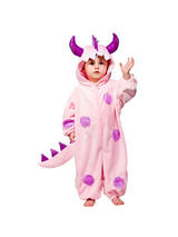 View Item Child Toddler Pink Monster Fancy Dress Costume Halloween Wild Animal Boys Girls