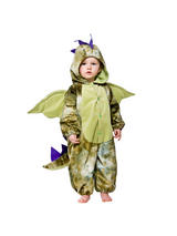 View Item Child Toddler Dinosaur Fancy Dress Costume Dragon Wild Animal Kids Boys Girls