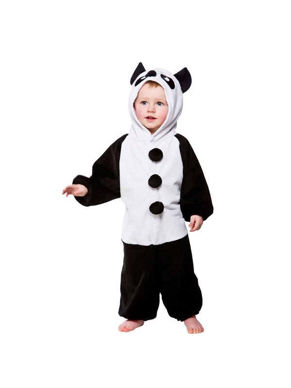 child toddler panda fancy dress costume book week kids boys girls ebay. Black Bedroom Furniture Sets. Home Design Ideas