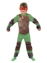 View Item Child Teenage Mutant Ninja Turtle Fancy Dress Costume Superhero TMNT Kids