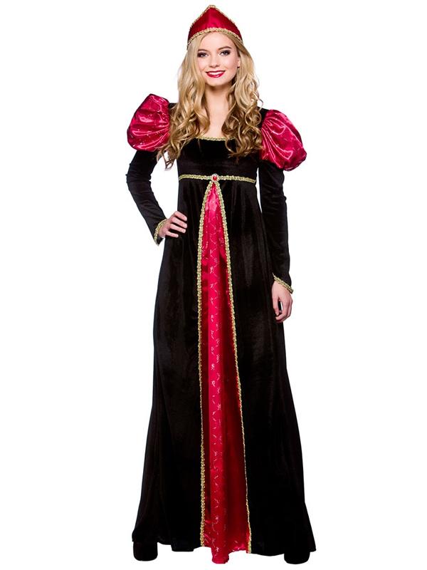 Ladies Queen Medieval Costume