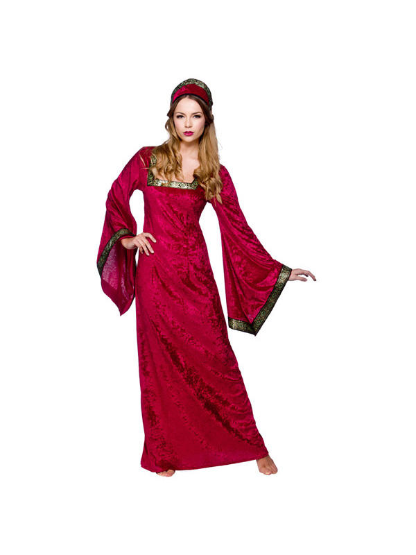 Ladies Princess Medieval Costume Thumbnail 1