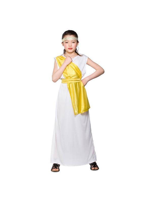 Girl's Greek Toga Costume