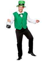 Men's Lucky Irish Leprechaun Costume