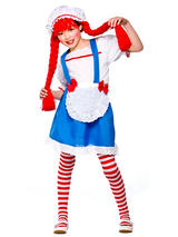 Girl's Little Rag Doll Costume