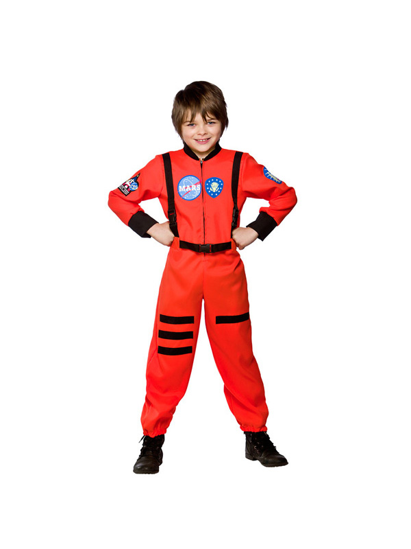 Boy's Mission To Mars Astronaut Costume