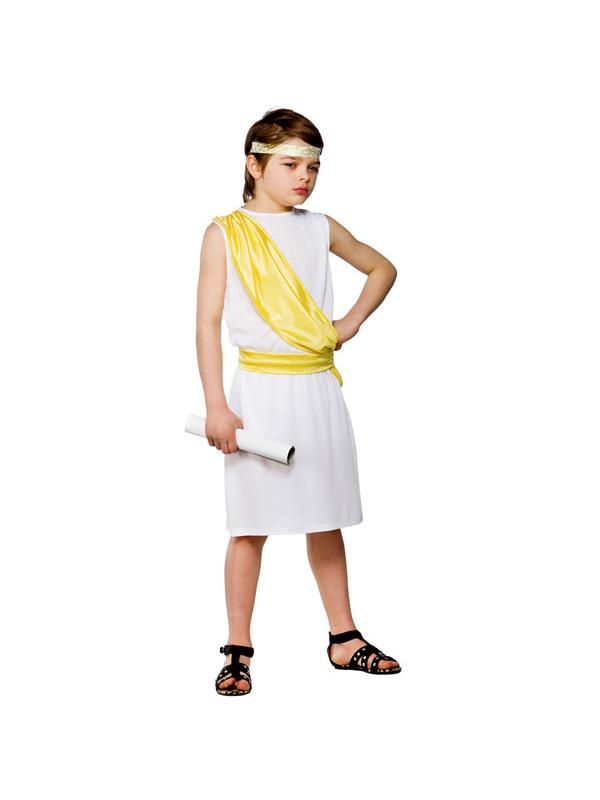 Boy's Ancient Greek Toga Costume