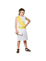 Boy's Ancient Greek Toga Costume