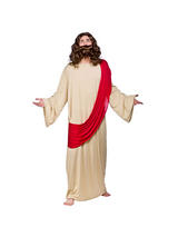 View Item Adult Jesus Fancy Dress Costume God Holy Religious Biblical Mens Gents Male