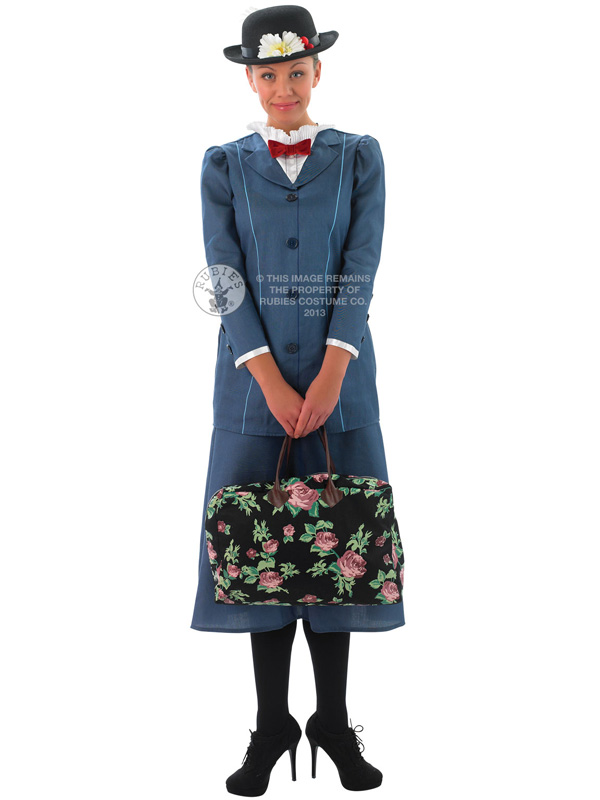 Adult-Disney-Mary-Poppins-Fancy-Dress-Costume-Victorian-Lady-Edwardian-Ladies