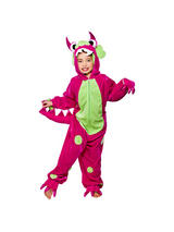 Child's Pink Mini Monster Costume