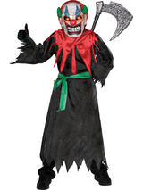 Boy's Scary Clown Costume