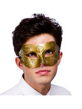 Venetian Antique Gold Eye Mask