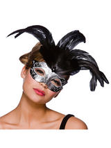 Firenze Eye Mask -  Silver