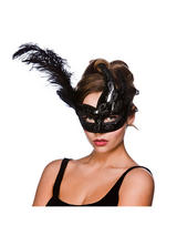 Salerno Eye Mask - Black