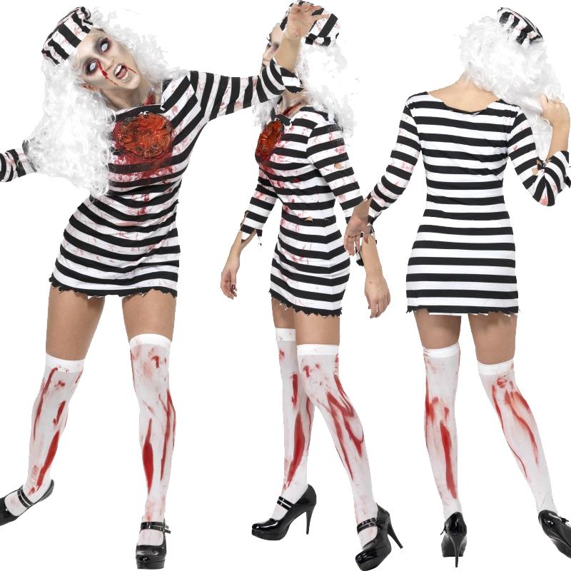 Convict Halloween Makeup images