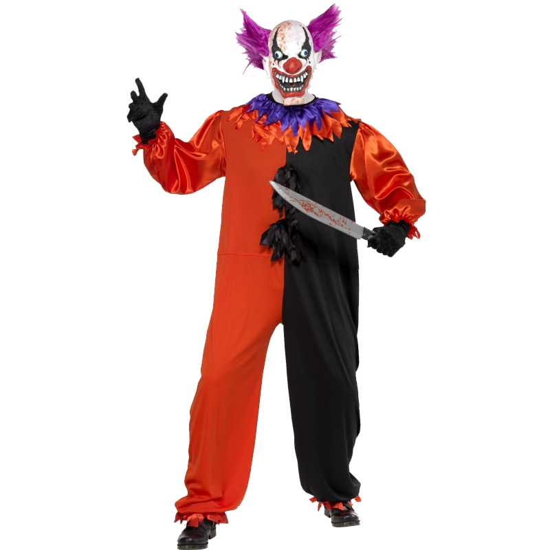 Adult-Mens-Halloween-Fancy-Dress-Costume-Outfit-New-Horror-Scary-Male-IT-Zombie