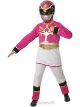 Girl's Power Ranger Mega Force Pink Costume