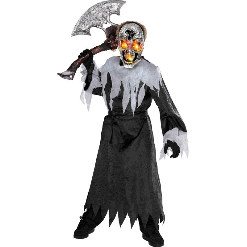 boys halloween outfit mask scary fancy dress costume - Scary Halloween Costumes For Children