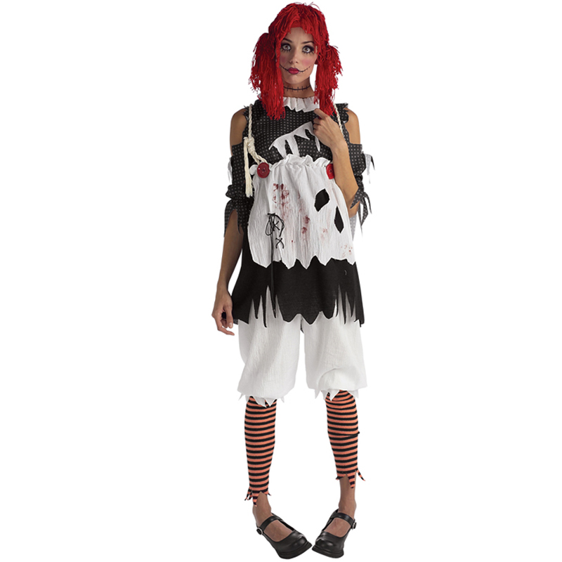 Adult-Ladies-Halloween-Costume-Fancy-Dress-Costume-Outfit-New-Walking-Dead