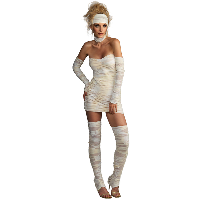 Adult-Ladies-Halloween-Costume-Fancy-Dress-Costume-Outfit-New-Undead-Women