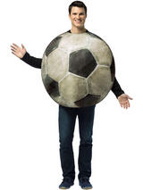 Adult's Soccer Ball Costume