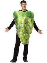 Adult's Green Grapes Costume