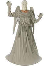 View Item Adult Doctor Who Weeping Angel Fancy Dress Costume Set Halloween Statue Unisex