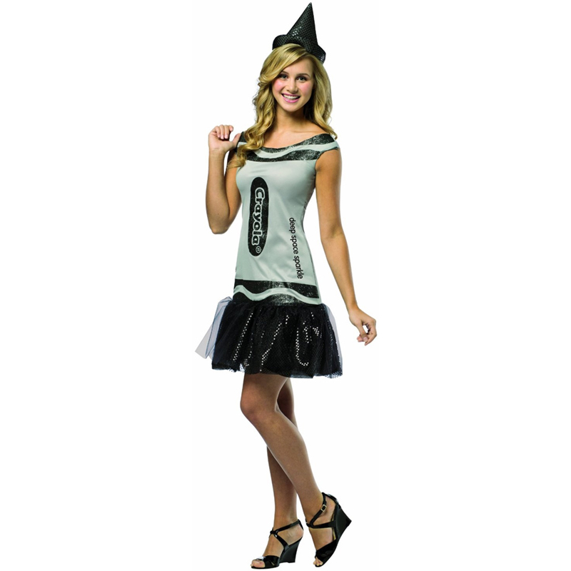Adult-Crayola-Tutu-Fancy-Dress-Costume-Tank-Crayons-Halloween-Hat-Hen-Party-New