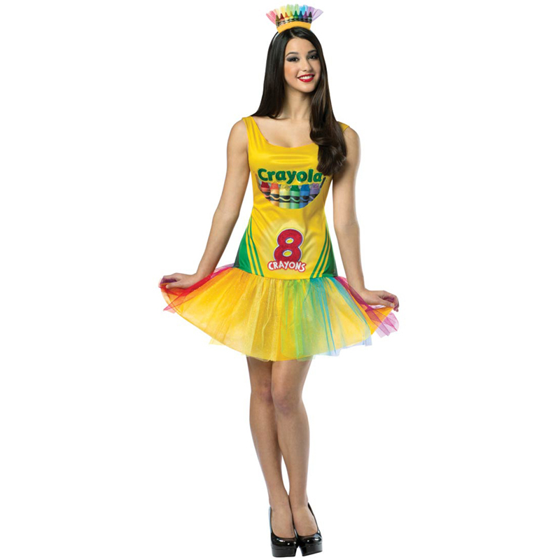 Crayola fancy dress cheap