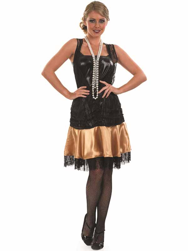 Ladies 20s Flapper Party Dress
